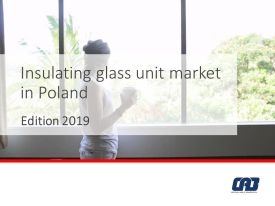 okladka insulating glass unit market in poland 2019